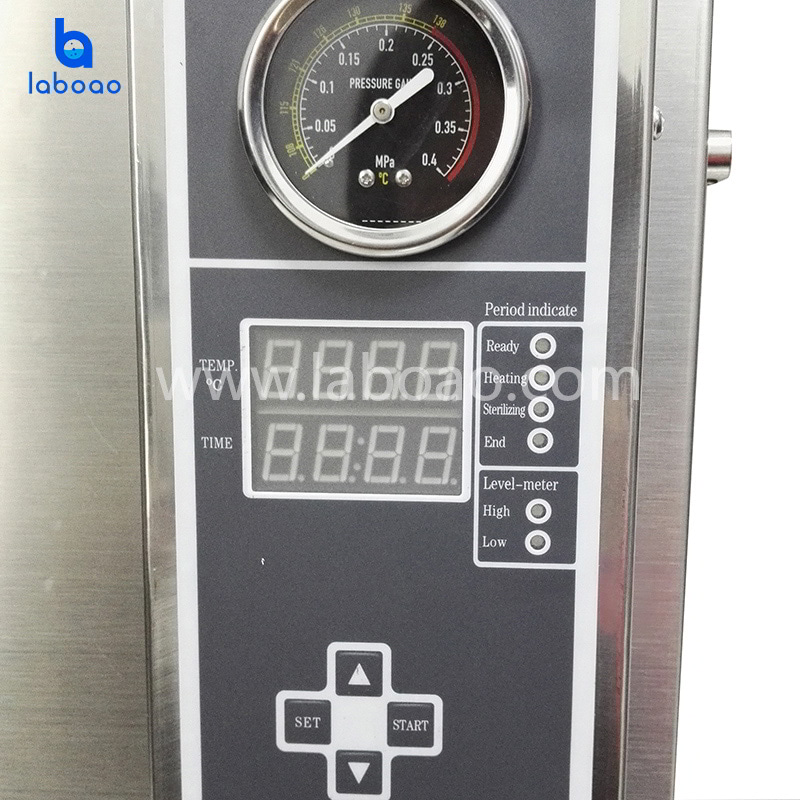 Automatic steam sterilizer quick open type