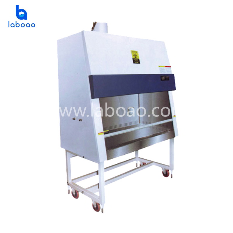 100% air exhaust biological safety cabinet