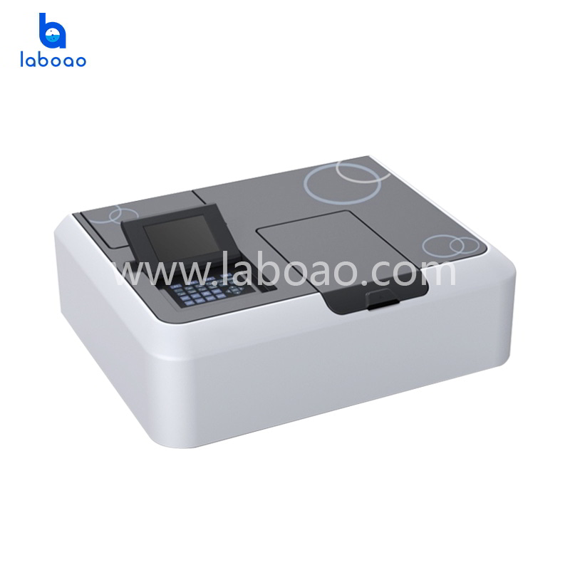 Classic double beam UV Visible spectrophotometer