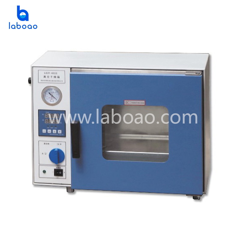 Desktop vacuum drying oven with programmable LCD controller