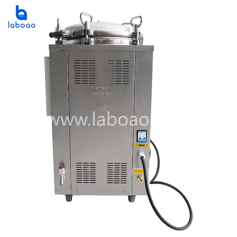Digital steam sterilizer