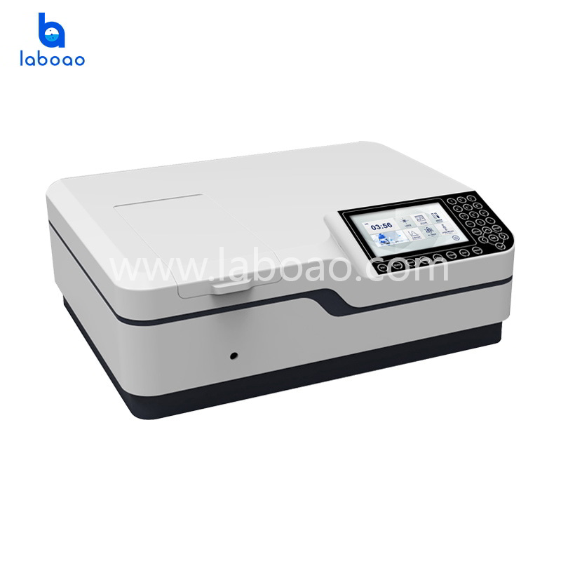 0.1-5nm double beam UV-Vis Spectrophotometer with Photomultiplier receiver
