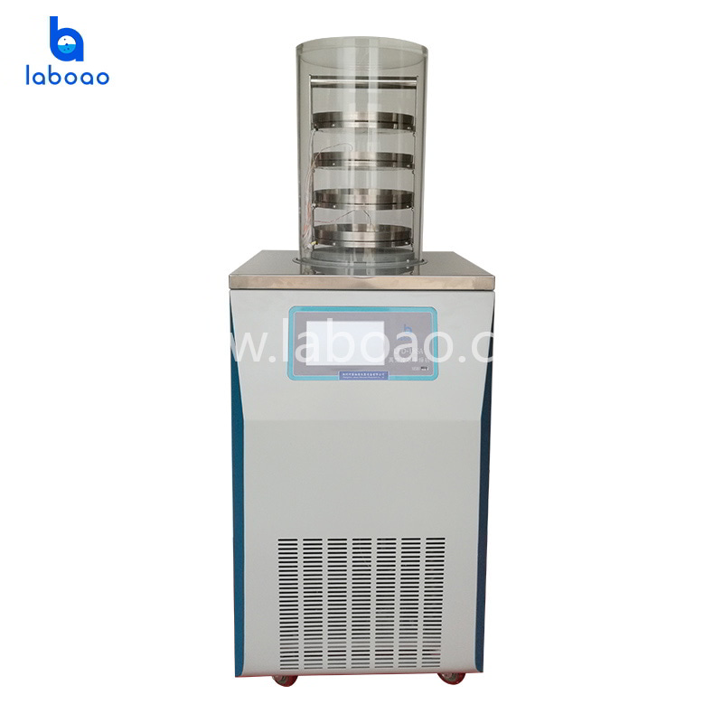 Electric heating normal lab freeze dryer