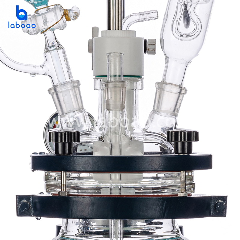 1L jacketed glass reactor