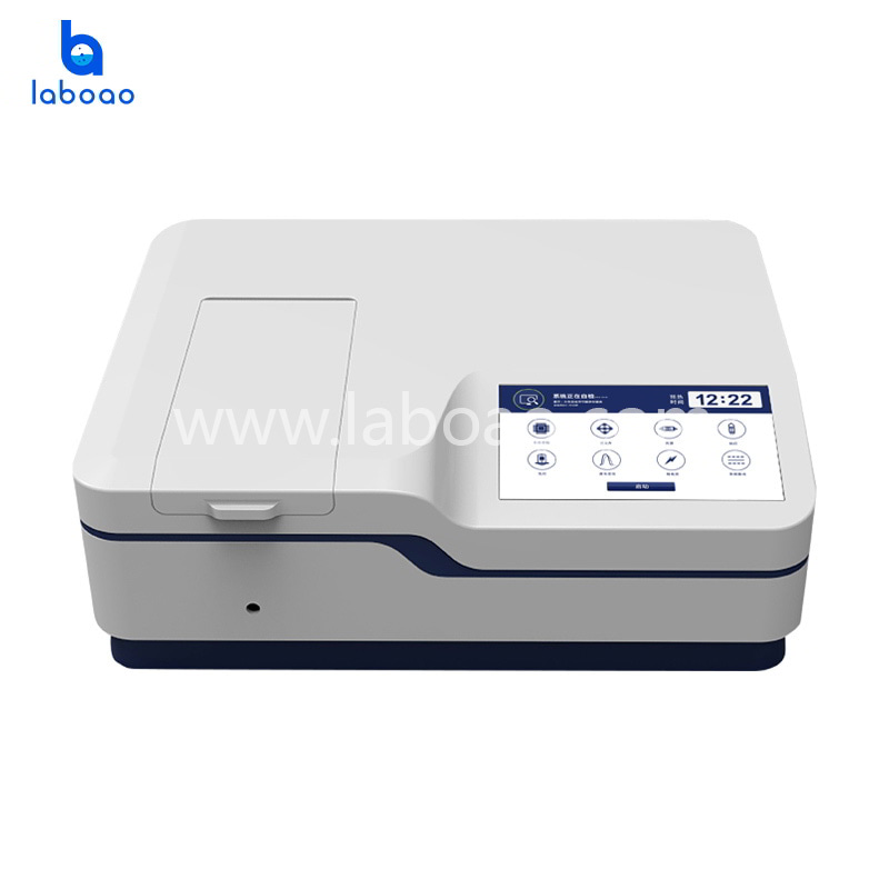 LCD double beam UV-Vis Spectrophotometer with xenon lamp