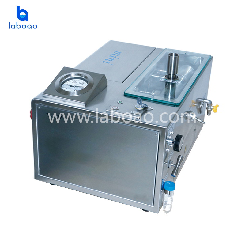 4℃~6℃ Low temperature ultra high pressure continuous flow cell crusher