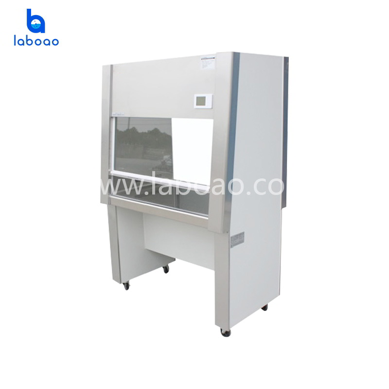 One side vertical laminar air flow clean bench