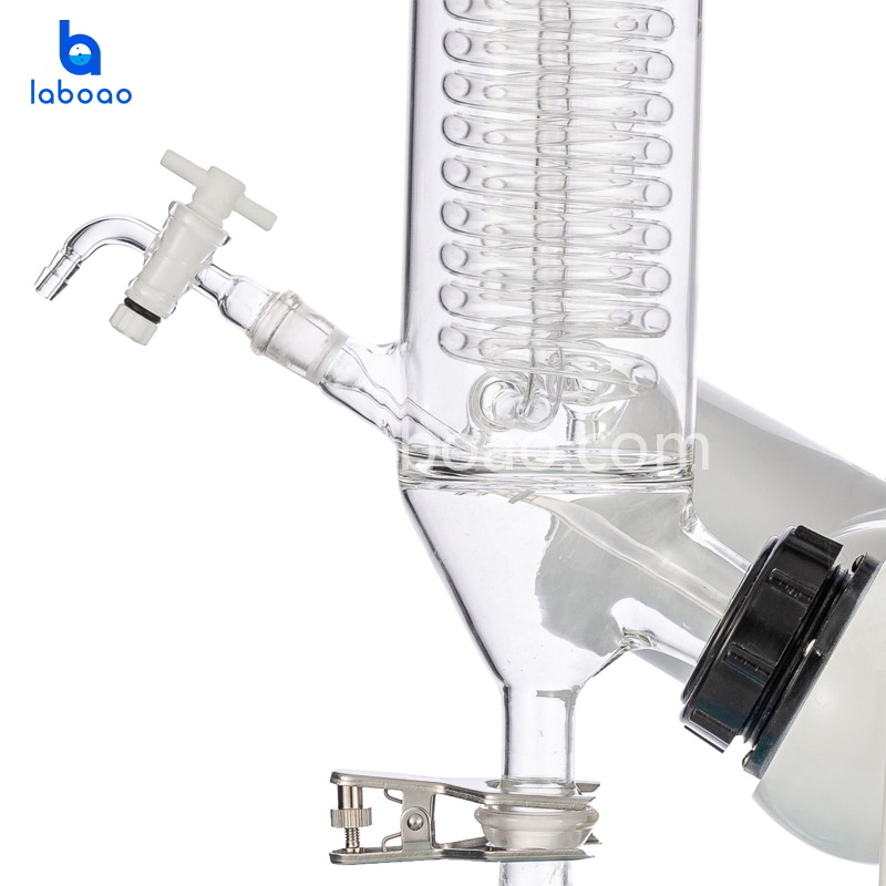 3L rotary evaporator with LCD display