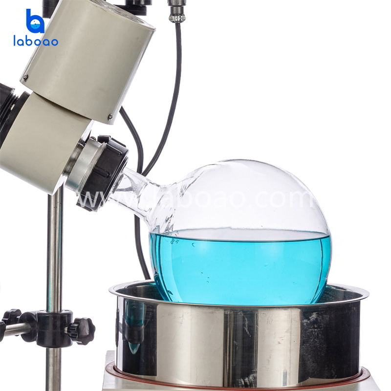 3L rotary evaporator with bath lift